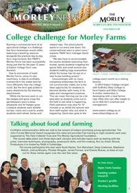 Farming Norfolk East Anglia Agricultural research