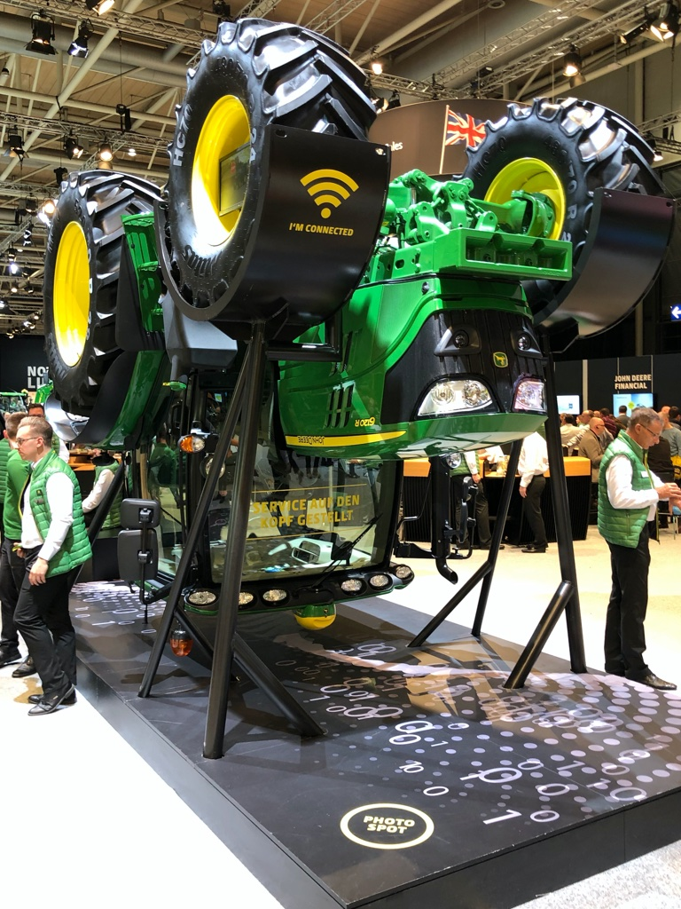 Even big names were turning current practice on its head at Agritechnica 2019