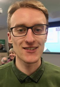 TMAF supported MSc student, Jack Davies