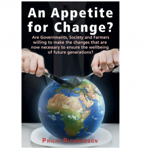Appetite for Change book by farmer and TMAF Trustee Philip Richardson