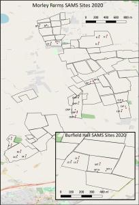 Morley SAM field test sites 2020